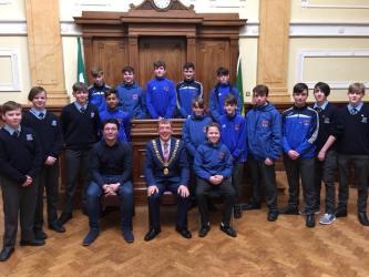 History Club Meets Lord Mayor