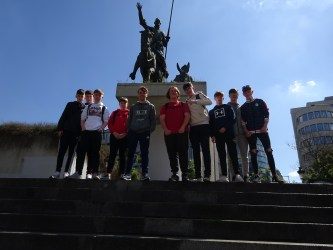 History Club return from Western Front
