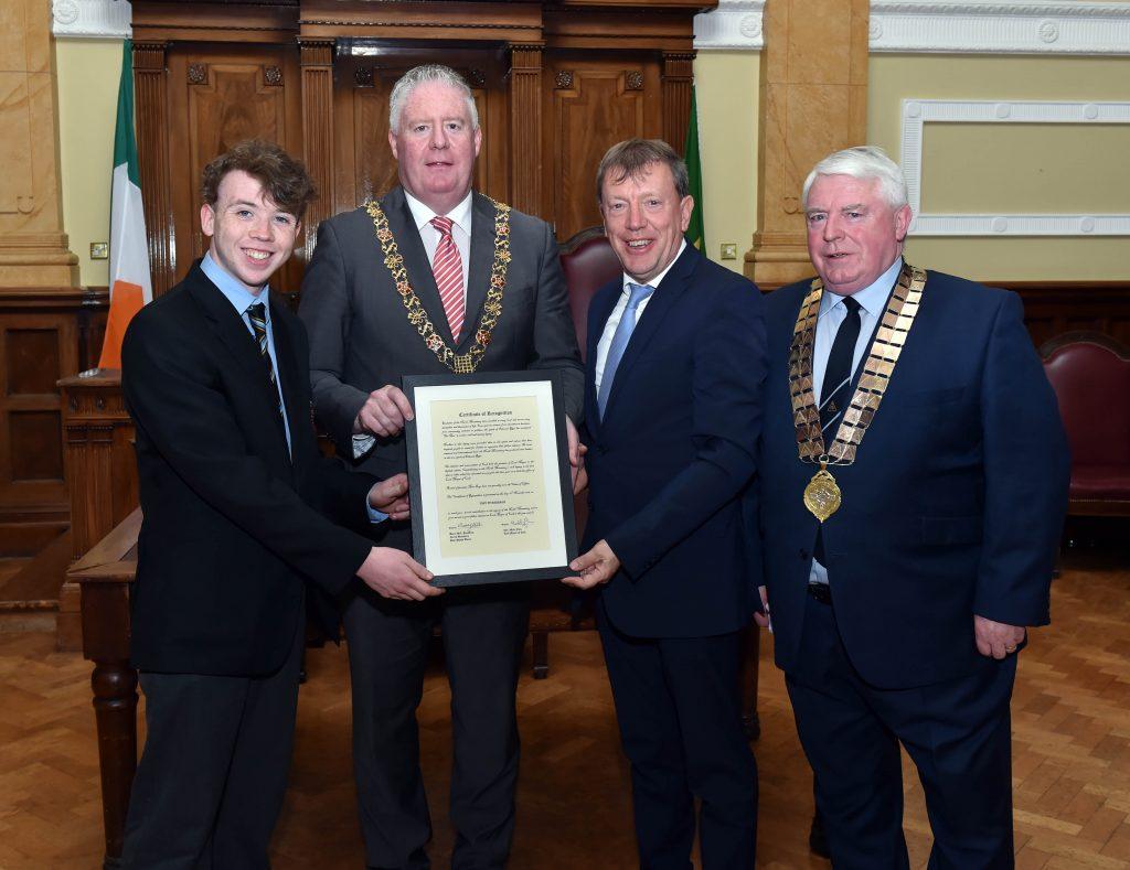 PPU Presentation to Tony Fitzgerald - Lord Mayor 2018 - 2019